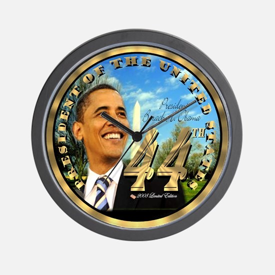 """Obama Inauguration"" Wall Clock"