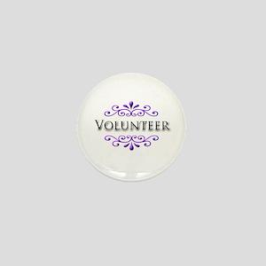 Volunteer Name Badge Mini Button
