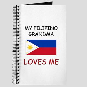 My Filipino Grandma Loves Me Journal