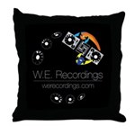 W.e. Recordings Throw Pillow