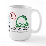 Large HD4000 Cappuccino Mug