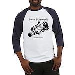 Twin Screwed! - Supercharger - Baseball Jersey