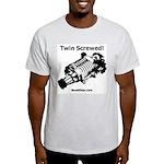 Twin Screwed! - Supercharger - Light T-Shirt