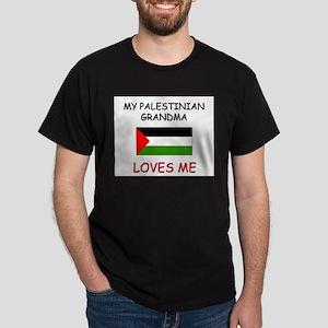 My Palestinian Grandma Loves Me Dark T-Shirt