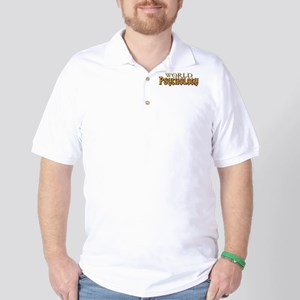 World of Psychology Golf Shirt