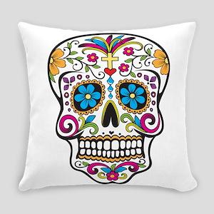 Sugar Skull Everyday Pillow