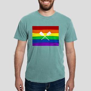 Paddles gay rainbow art ore T-Shirt