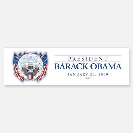 Obama Inauguration Bumper Bumper Bumper Sticker