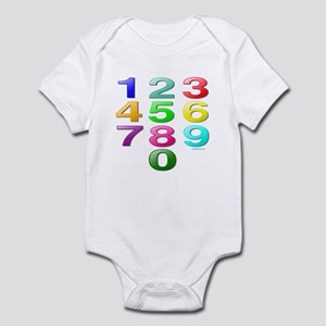 COUNTING/NUMBERS Infant Bodysuit