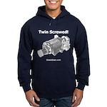 Twin Screwed! - Supercharger - Hoodie (dark)