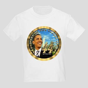 """""""Obama Inauguration"""" Kids Light T-Shirt"""