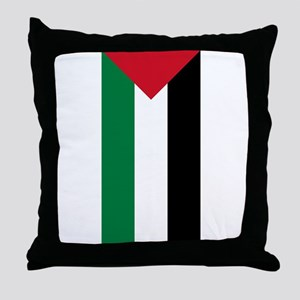 Palestinian Flag Throw Pillow