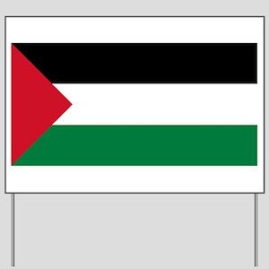 Flag of Palestine Yard Sign