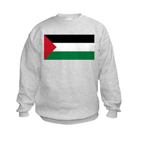 Flag of Palestine Kids Sweatshirt