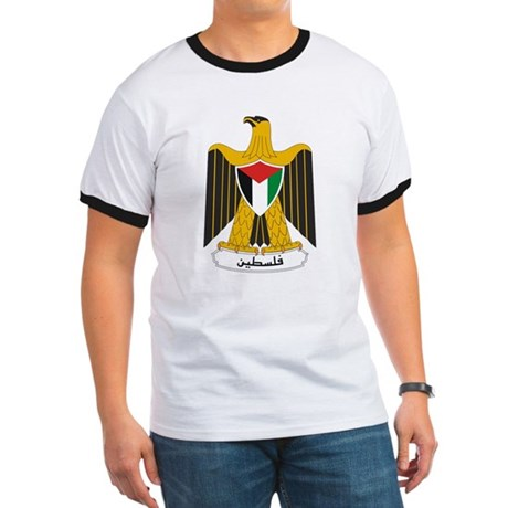 Palestinian Coat of Arms Ringer T
