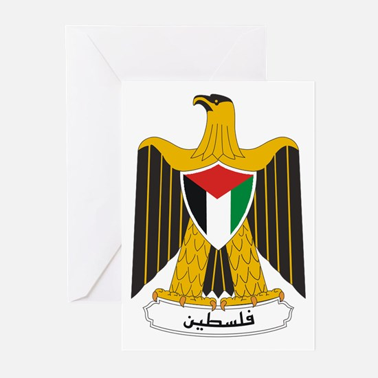 Palestinian Coat of Arms Greeting Cards (Pk of 20)