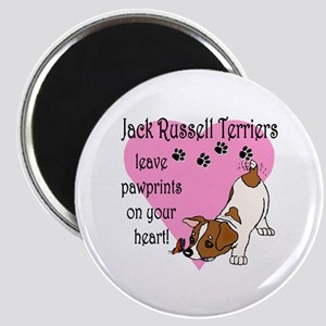 Jack Russell Terrier Pawprints Magnet