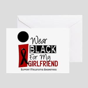 I Wear Black For My Girlfriend 9 Greeting Card