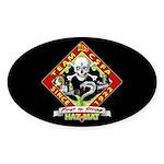 CSFA Oval Hazmat Sticker