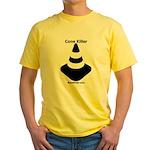 Cone Killer! - Road Race - Yellow T-Shirt