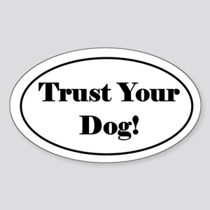 Tracking Sticker - Trust Your Dog!