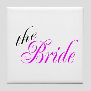 The Bride Tile Coaster