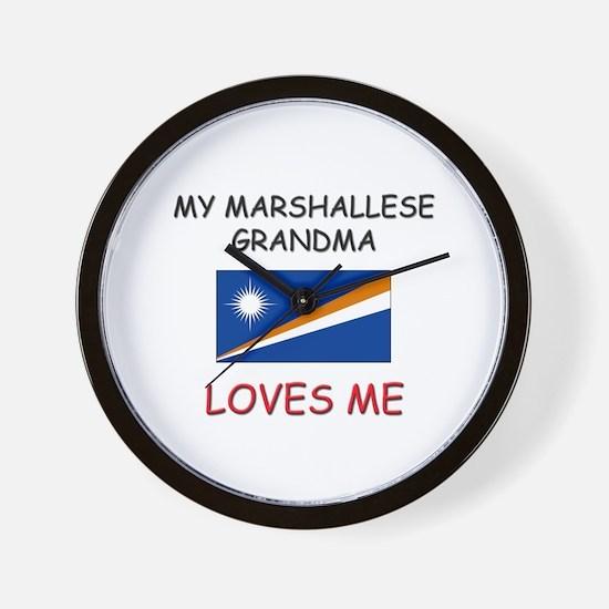 My Marshallese Grandma Loves Me Wall Clock