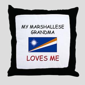 My Marshallese Grandma Loves Me Throw Pillow