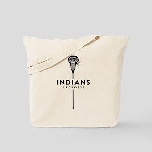 Indians Lacrosse Tote Bag