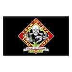 CSFA Rectangular Hazmat Sticker