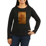 Self Portrait Women's Long Sleeve Dark T-Shirt