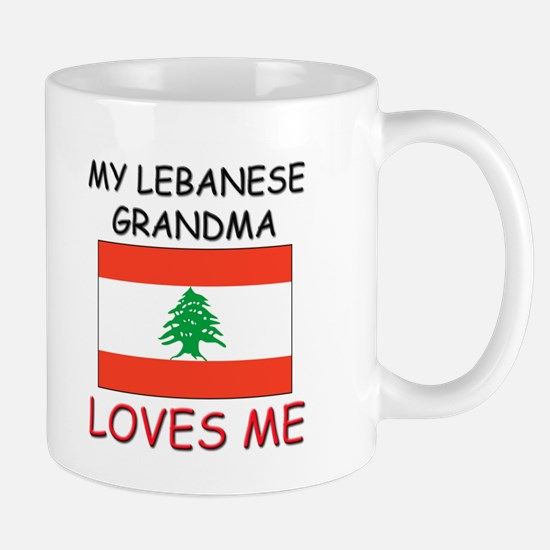 My Lebanese Grandma Loves Me Mug