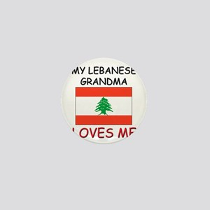 My Lebanese Grandma Loves Me Mini Button