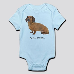 Good Dachshund Infant Bodysuit