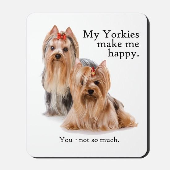 My Yorkies Mousepad