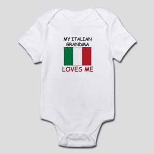 My Italian Grandma Loves Me Infant Bodysuit