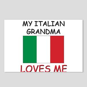 My Italian Grandma Loves Me Postcards (Package of