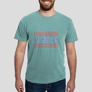 Obsessive Shuffleboard Mens Comfort Colors® Shirt