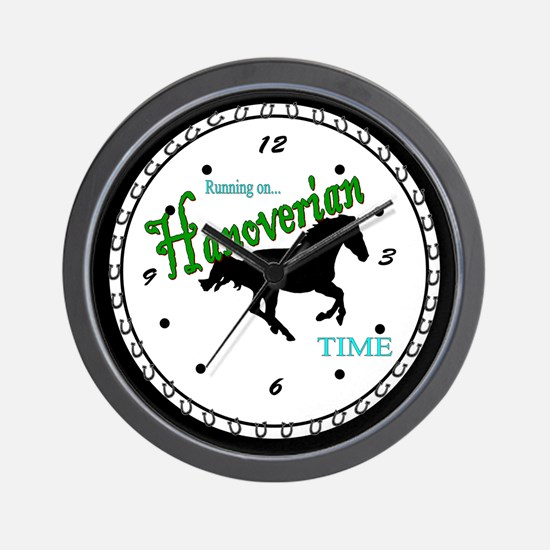 Hanoverian Wall Clock
