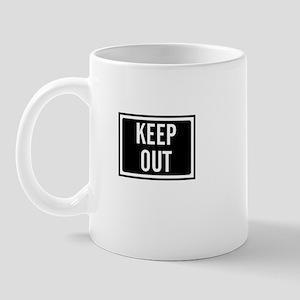 Keep Out Mug