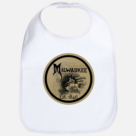 milwaukee slogan - cream city Baby Bib