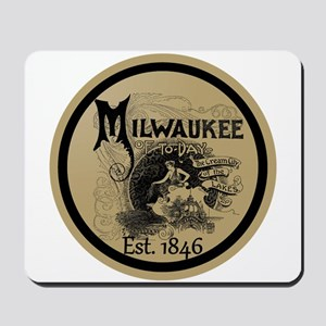 milwaukee slogan - cream city Mousepad