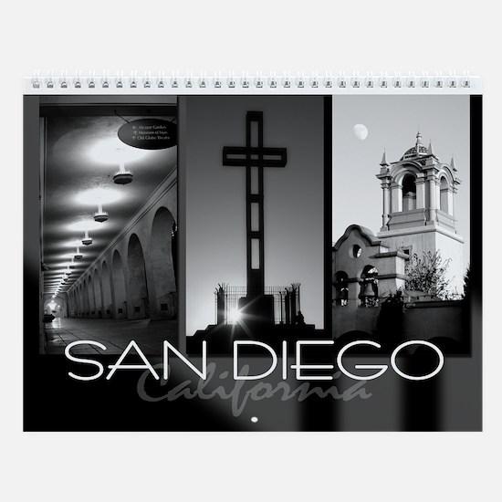 San Diego Photography Wall Calendar