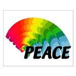 Rainbow Peace Small Poster