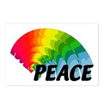 Rainbow Peace Postcards (Package of 8)