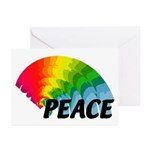 Rainbow Peace Greeting Cards (Pk of 10)