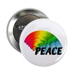 "Rainbow Peace 2.25"" Button (100 pack)"