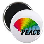 "Rainbow Peace 2.25"" Magnet (100 pack)"