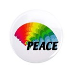"Rainbow Peace 3.5"" Button (100 pack)"