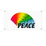 Rainbow Peace Banner